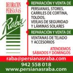 Persianas Raba renueva su colaboración con www.folk-cantabria.com