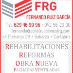 Construcciones FRG colabora con nuestra pagina.