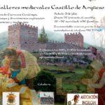 Talleres Medievales en el Castillo de Argüeso. Sábado 21 de julio.