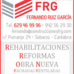 Construcciones FRG renueva su colaboración con www.folk-cantabria.com