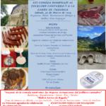 XII Comida Homenaje al Folclore Cántabro y a la Carne de Tudanca, Hotel Olimpo Isla. Sábado 30 de marzo.