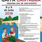 Fiesta de la Gaita Cantabra en Unquera. Sábado 8 y domingo 9 de junio.