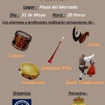 XI Fiesta Fin de Curso de la Escuela Municipal de Folclore de Astillero. Viernes 31 de mayo, 20.00