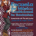 Concierto Fin de Curso de la Escuela de Música Tradicional de Santander. Jueves 30 de mayo, 19.30