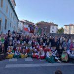 III Feria del Traje Campurriano organizada por el Grupo de Danzas La Cagiga de Reinosa.