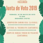 Festival Folclórico Junta de Voto en Badames. Sábado 18 de mayo, 18.00