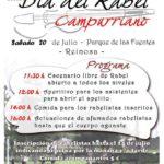Día del Rabel Campurriano en Reinosa. Sábado 20 de julio, 11.30