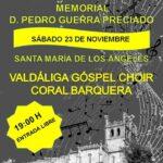 Memorial Pedro Guerra Preciado en San Vicente de la Barquera. Sábado 23 de noviembre, 19.00