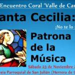 XXVII Encuentro Coral Valle de Camargo en Herrera de Camargo. Sábado 23 de noviembre.