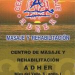 Centro de Masajes Adher renueva su colaboración con www.folk-cantabria.com